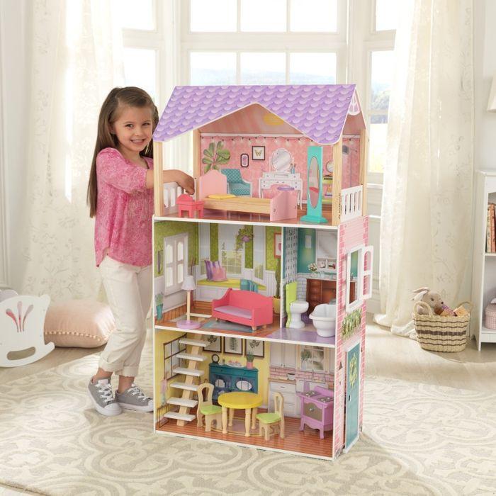 KidKraft Domček pre bábiky Poppy