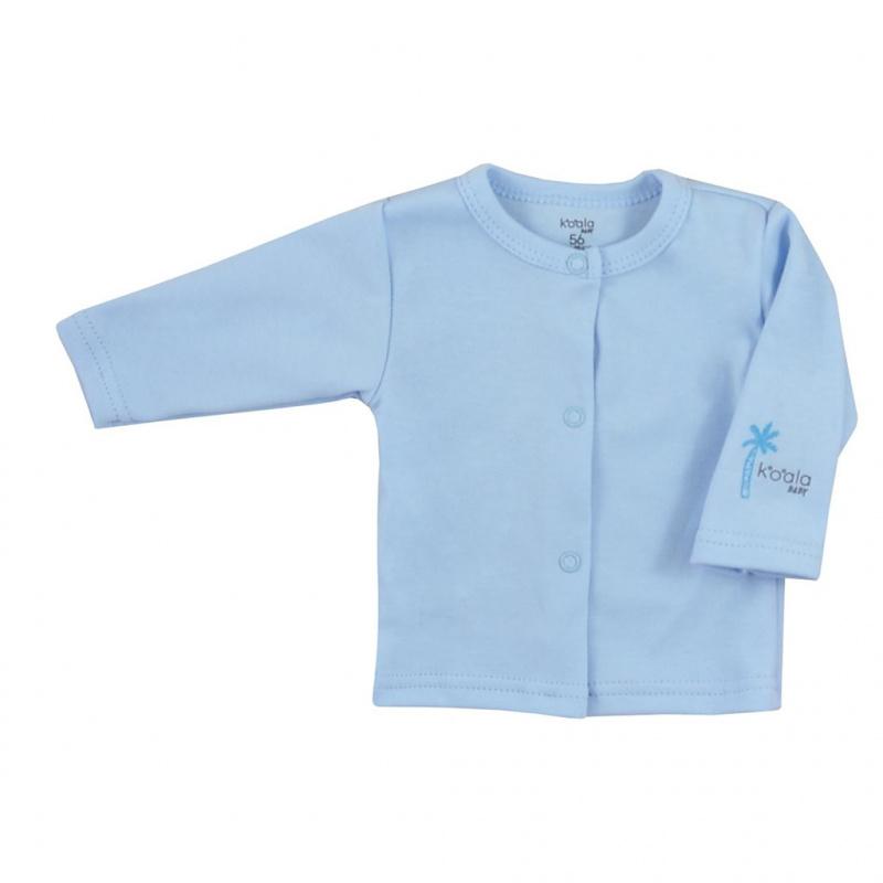 Dojčenský bavlnený kabátik Koala Farm modrý