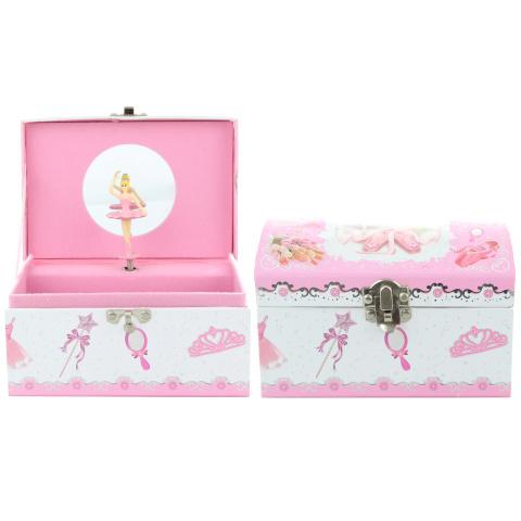Pudełko na biżuterię z baletnicą