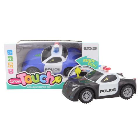 Samochód policyjny na baterie