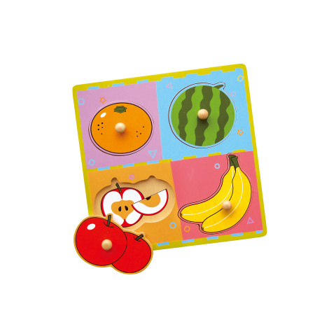 Wstawka drewniana - owoce
