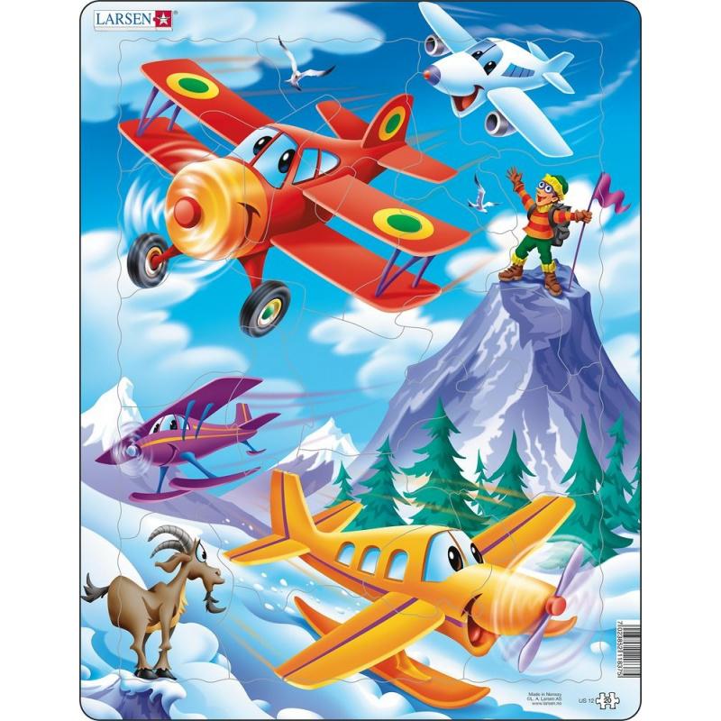 Puzzle Lietadlá 20 dielikov