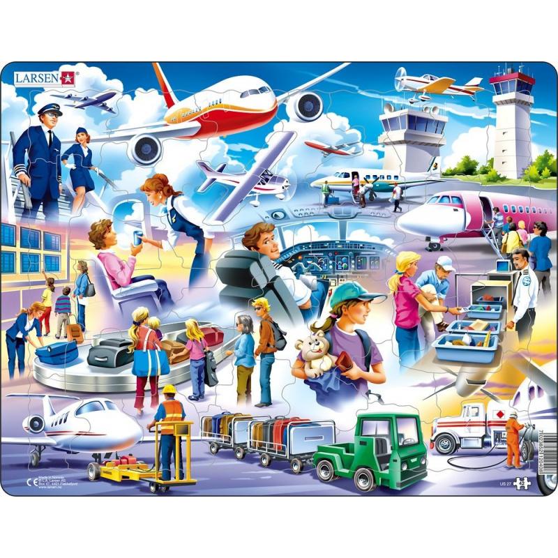 Puzzle Letisko 42 dielikov