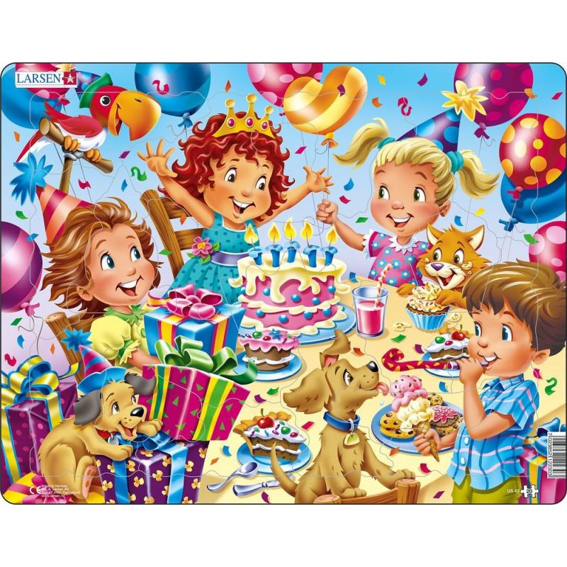 Puzzle Narozeninová party 20 dílků
