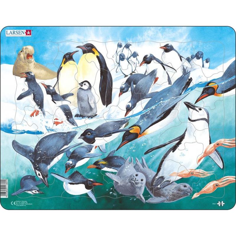 Puzzle Tučňáci 50 dílků