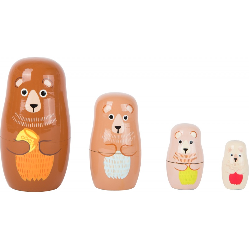 Matrioška Medvědí rodina