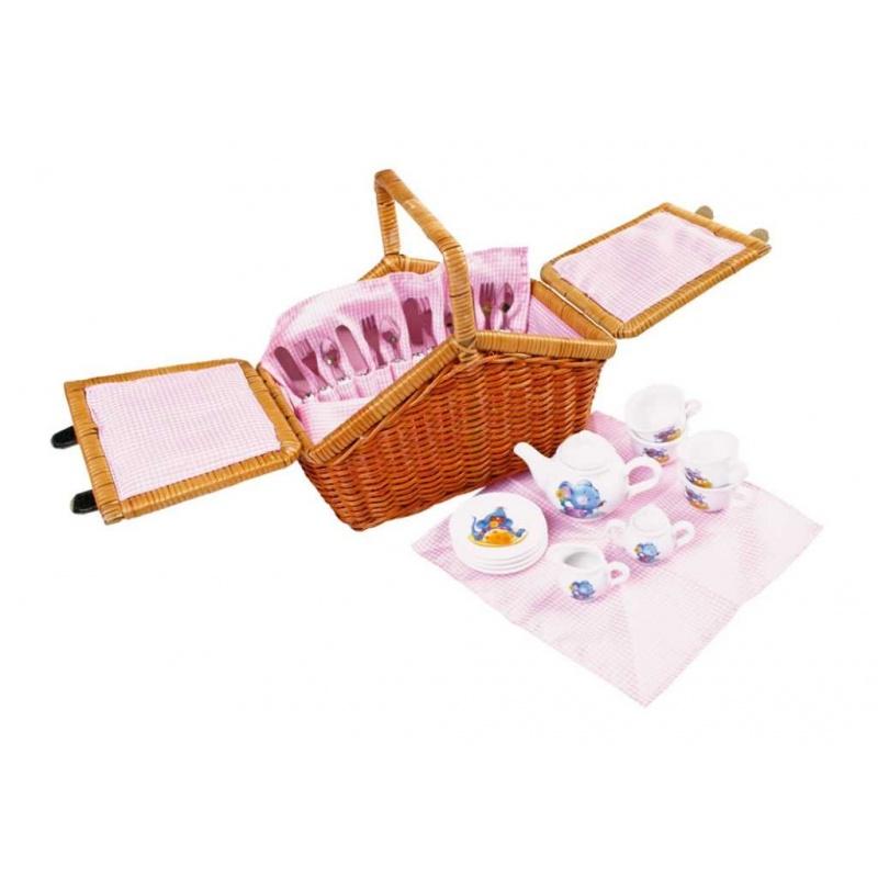 Dřevěné hračky - Piknikový koš Romantik