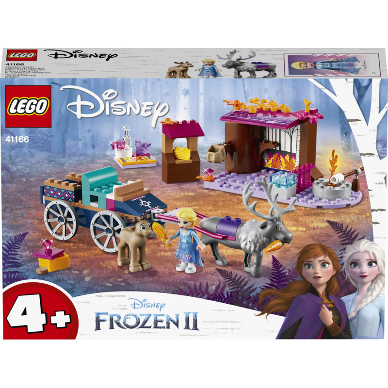 Lego Disney Princess Elsa a dobrodružstvo s povozom