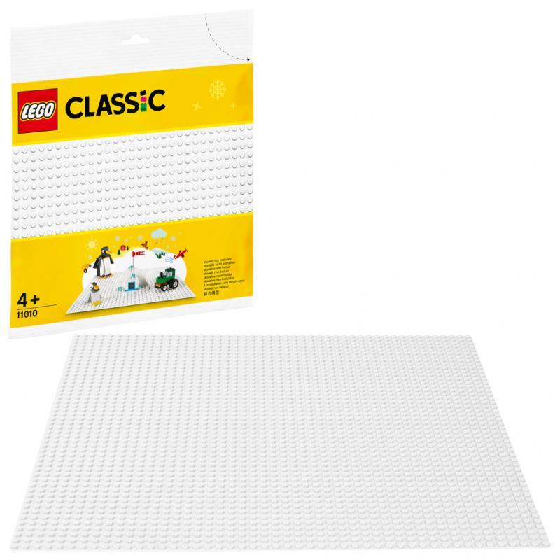 Lego Classic Bílá podložka na stavění