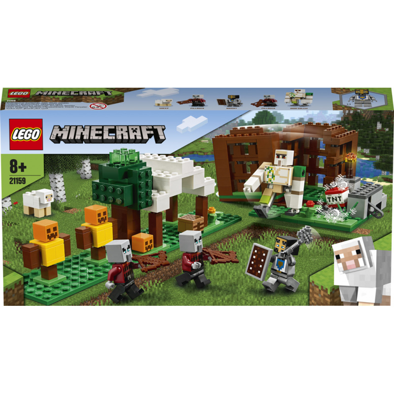 Lego Minecraft Základna Pillagerů