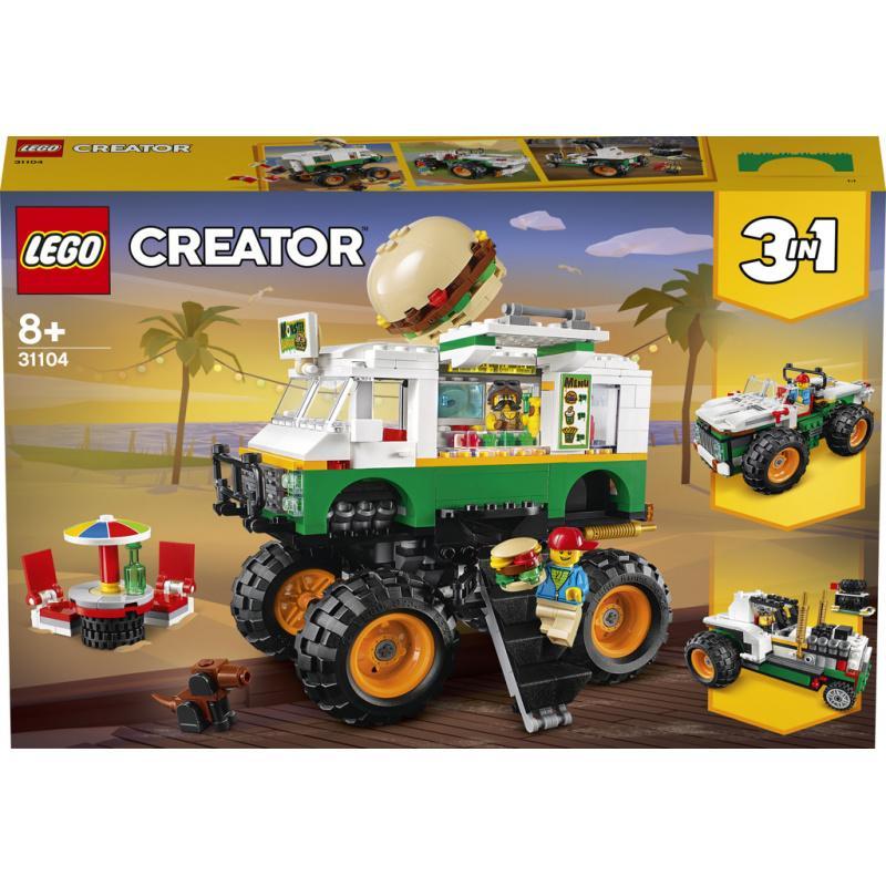 Lego Creators Hamburgerový monster truck