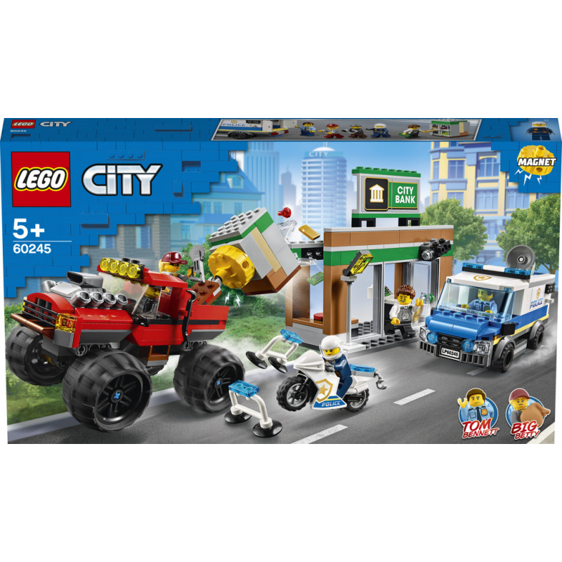 Lego City Loupež s monster truckem