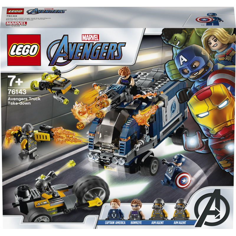 Lego Super Heroes Avengers: Boj o náklaďák