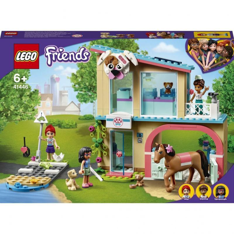 LEGO® Friends 41446 Veterinární klinika v městečku