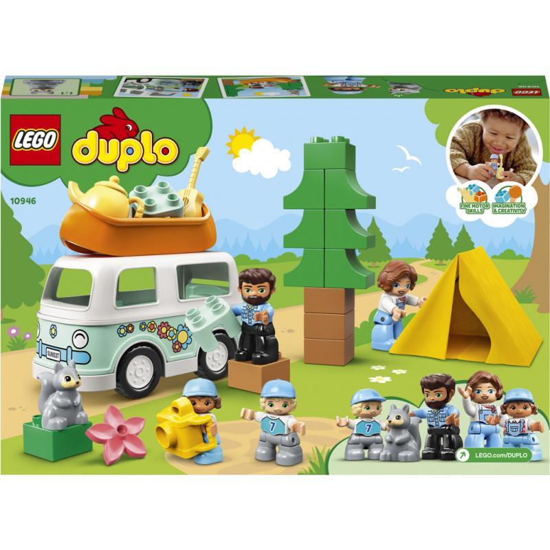 LEGO® DUPLO® Town 10946 Dobrodružstvo v rodinnom karavane