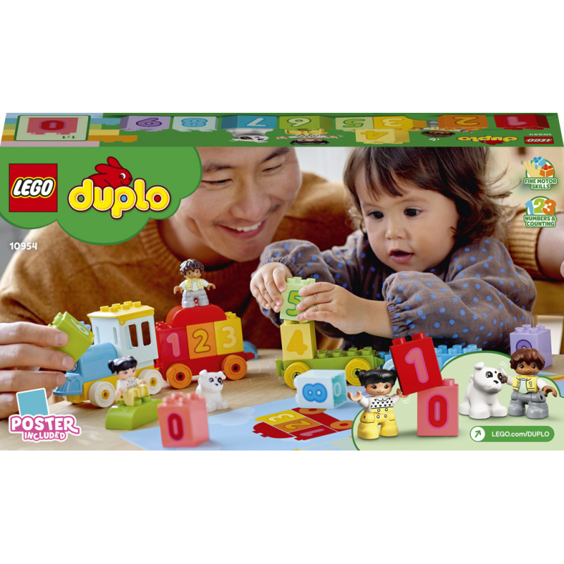 LEGO® DUPLO® My First 10954 Vláčik s číslami - Učíme sa počíta