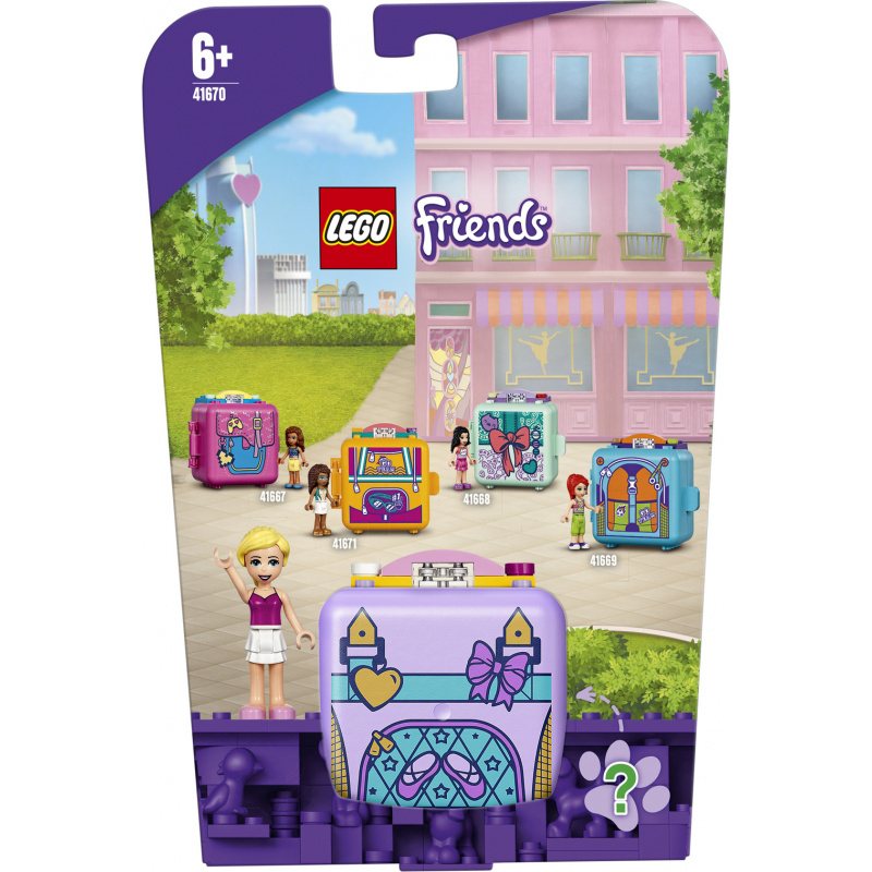 LEGO® Friends 41670 Stephaniin baletné boxík