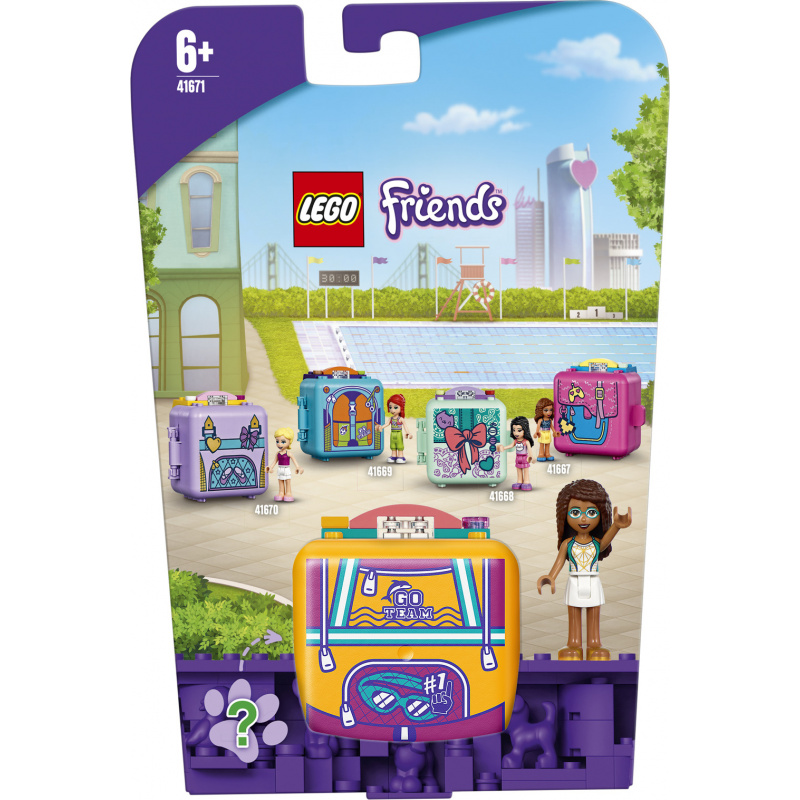 LEGO® Friends 41671 Andrein plavecký boxík