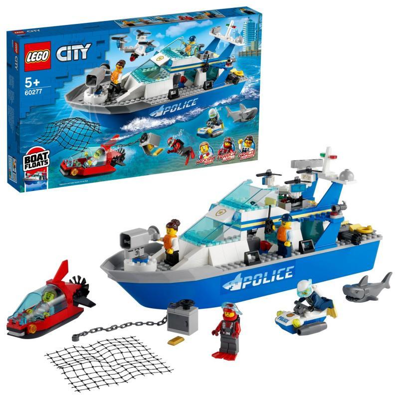 Policyjna łódź patrolowa