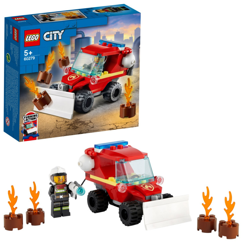 Speciální hasičské auto