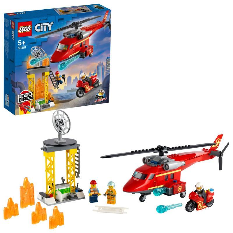 Hasičský záchranný vrtuľník