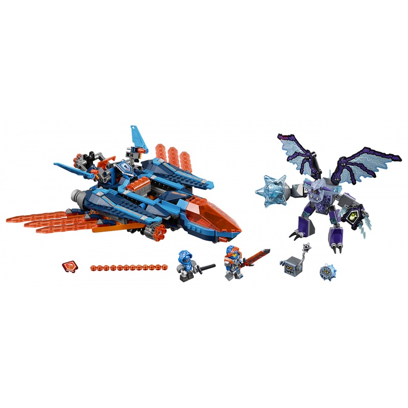 LEGO® NEXO KNIGHTS™ Clayův letoun Falcon Fighter Blaster 70351
