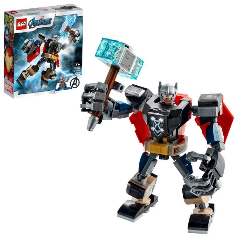 Thor v obrnenom robotovi
