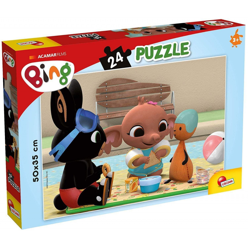 BINGO - Piknik puzzle 24 dielikov