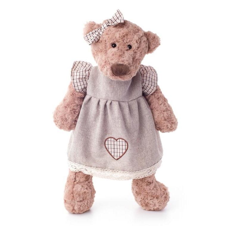 Medvěd Lumpinka v šatech, malá 33 cm