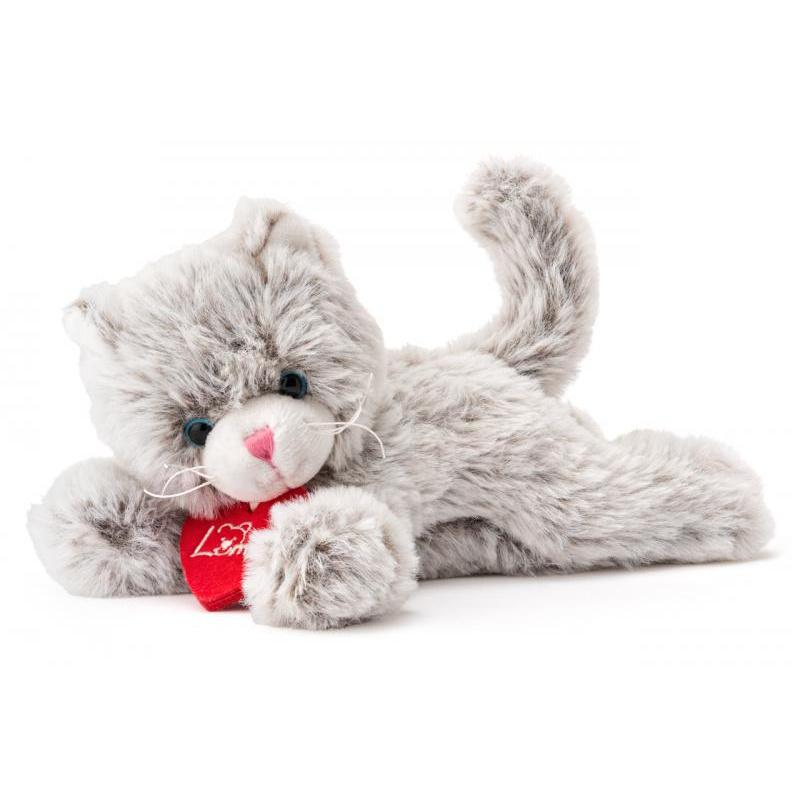 Kočička Chichi sv.šedá, 20 cm