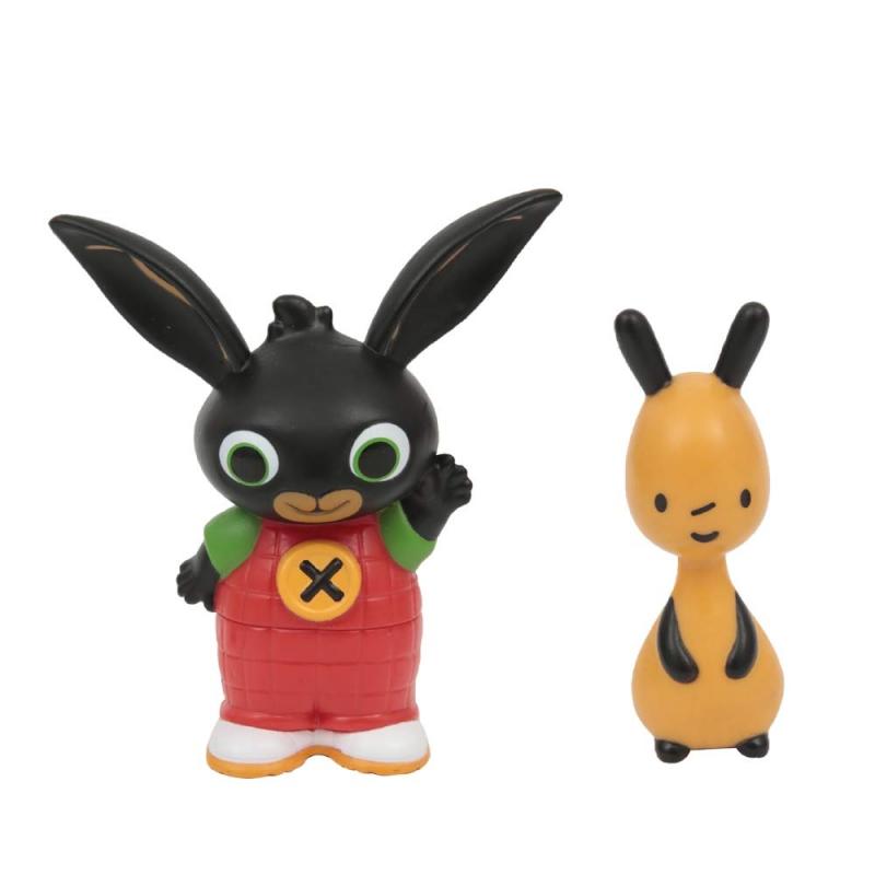 Figurki królik Bing i Flop zestaw dwupak