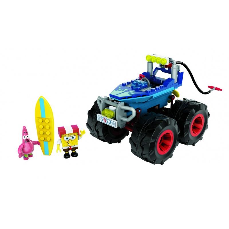 Mega Bloks Sponge Bob rally boat
