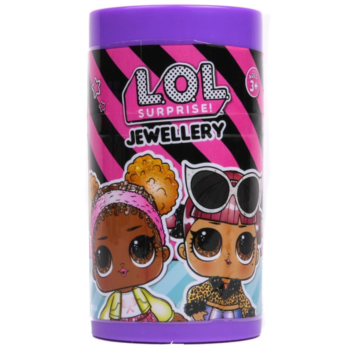 Šperky a príslušenstvo do vlasov LOL - prekvapenie v malej tube