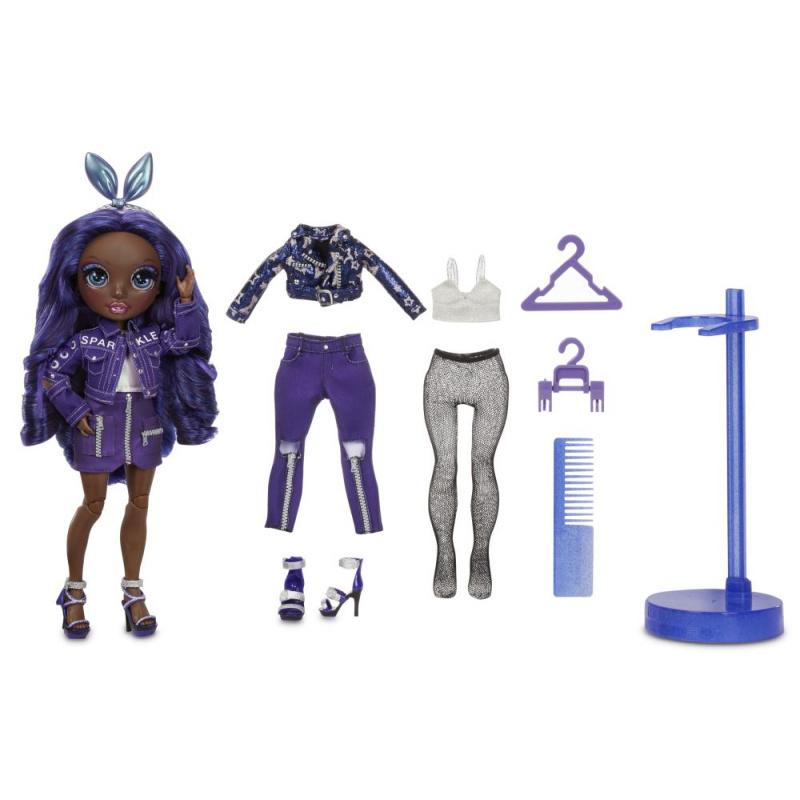 Rainbow High Fashion bábika - Krystal Bailey (Indigo)