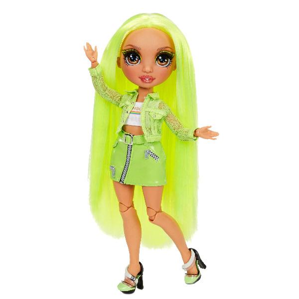 Rainbow High Fashion bábika - Karma Nichols (Neon)