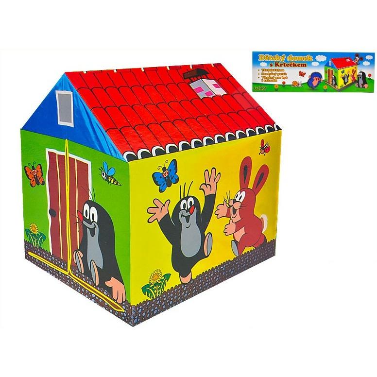 Krtečkův domeček 72x94x103cm látkový v krabičce