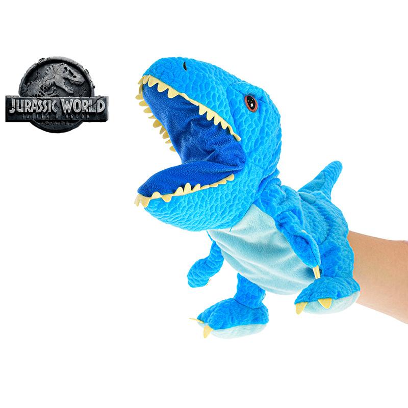 Pluszowa pacynka Velociraptor Jurassic World 25 cm
