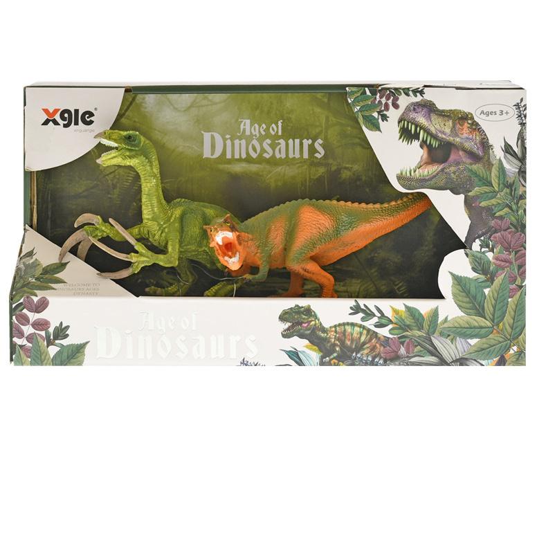 Dinosaurus 14,5cm 2ks v krabičce