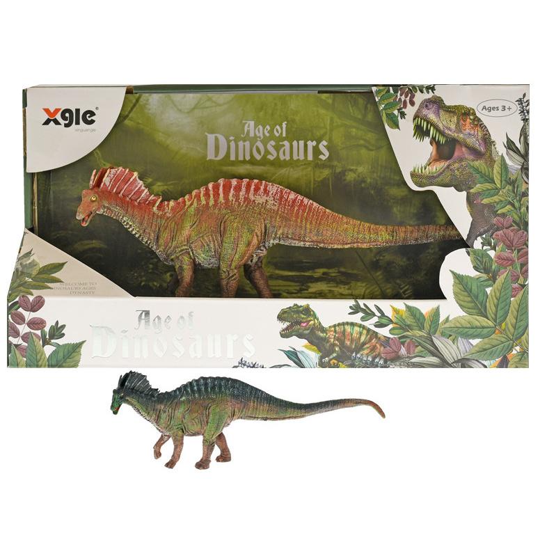 Dinosaurus amargasaurus 22cm 2barvy v krabičke