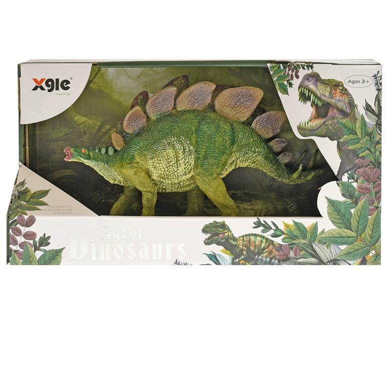 Dinosaurus Stegosaurus 20cm v krabičke