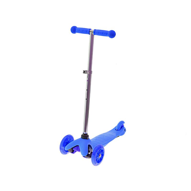 Hulajnoga 3 kołowa niebieska
