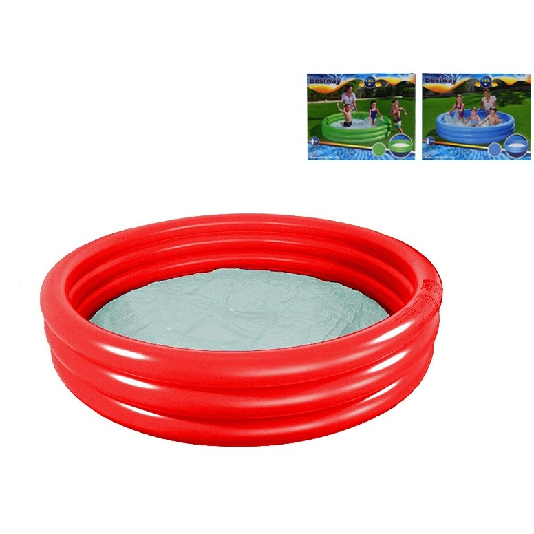 Bazén 183x33cm 3komory 3barvy 506L 24m+  v krabičce