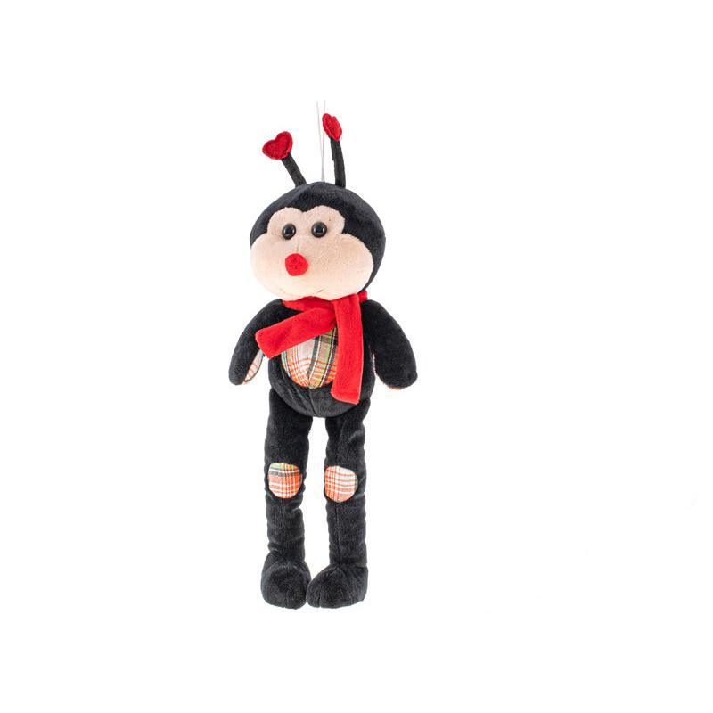 Pluszowy chrząszcz z długimi nogami 32 cm 0m+ w torbie