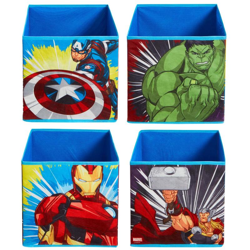 Detské úložné boxy Avengers