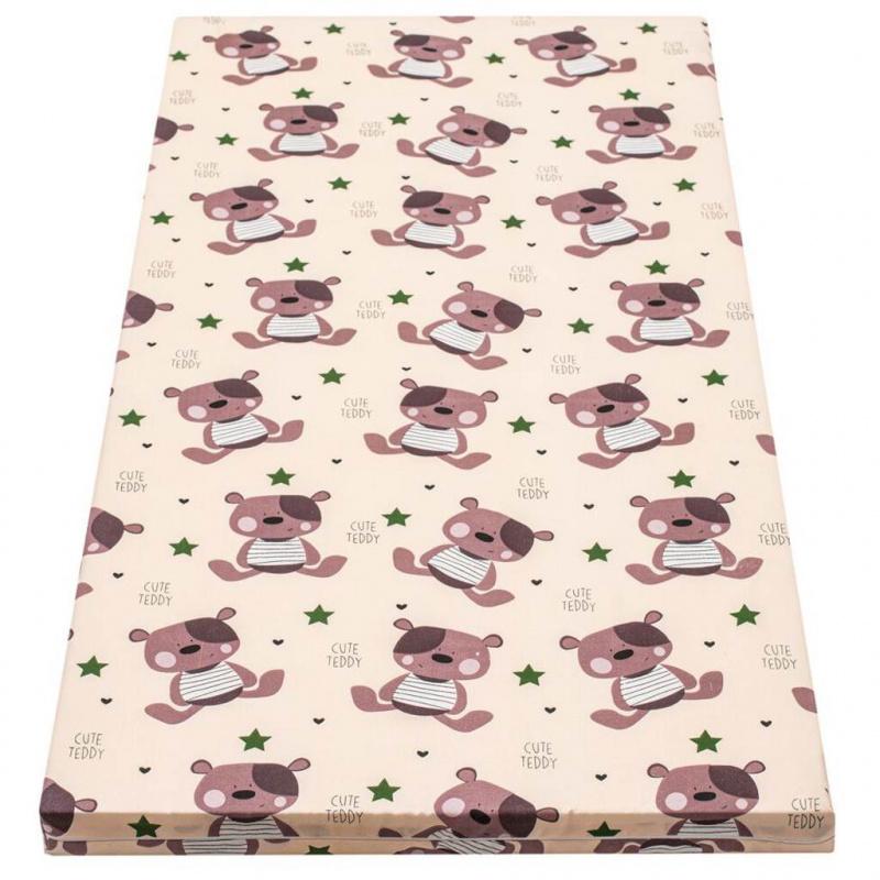Dětská pěnová matrace New Baby 120x60 béžová - různé obrázky