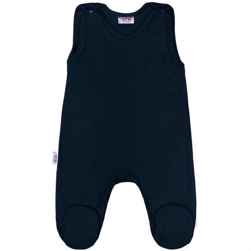 Buciki niemowlęce New Baby Classic II ciemnoniebieskie