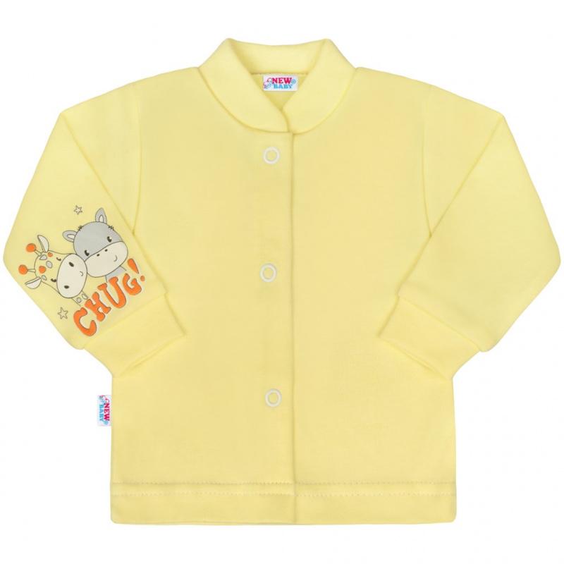 New Baby chug żółty płaszcz niemowlęcy