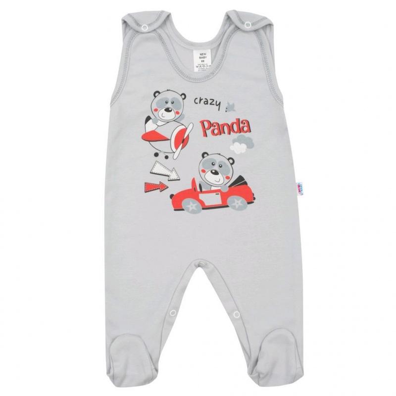 Kapcie niemowlęce New Baby Crazy Panda