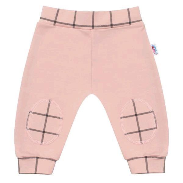Kojenecké bavlněné tepláčky New Baby Cool růžové