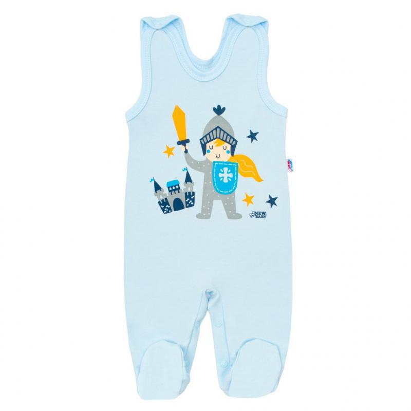 Kojenecké bavlněné dupačky New Baby Knight